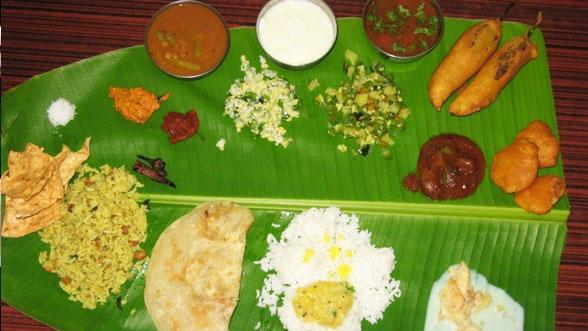 Sri santhosh caterers for Abhiruchi south north indian cuisine